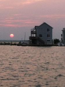 Sunset on Long Beach Island